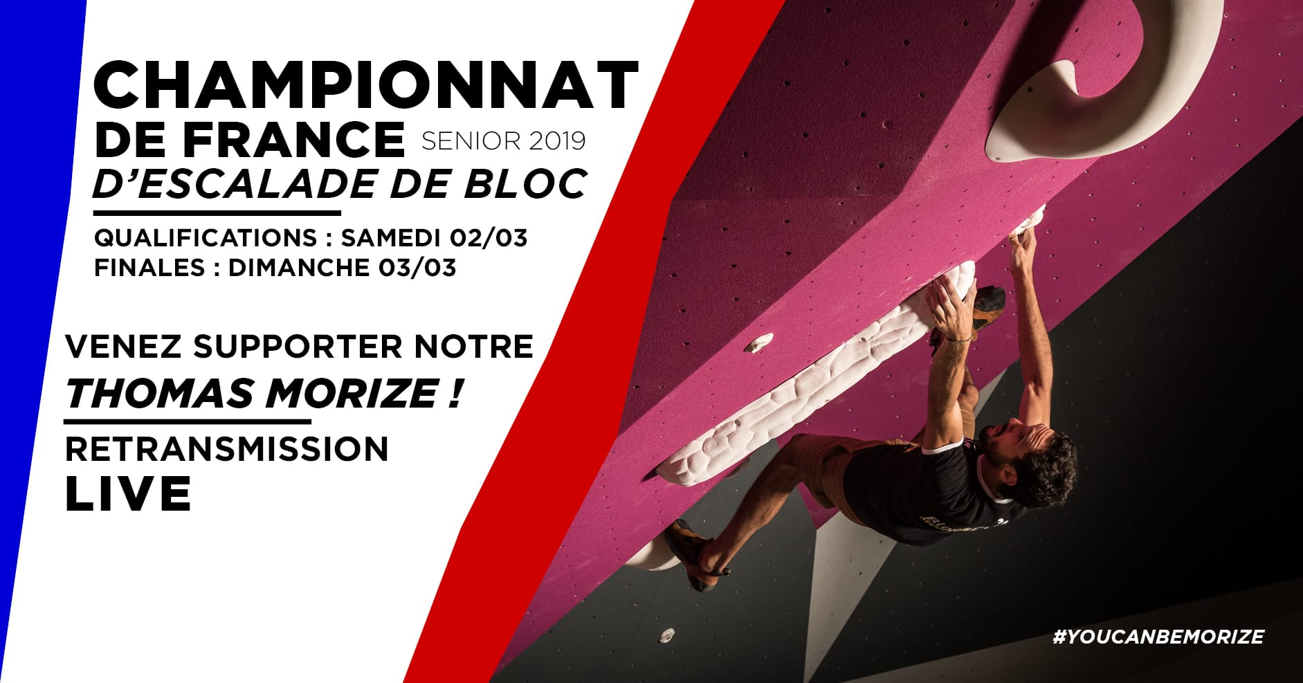 Championnats de France de Bloc : Direct Live TV