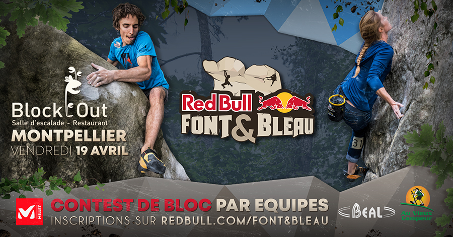 Red Bull Font&Bleau