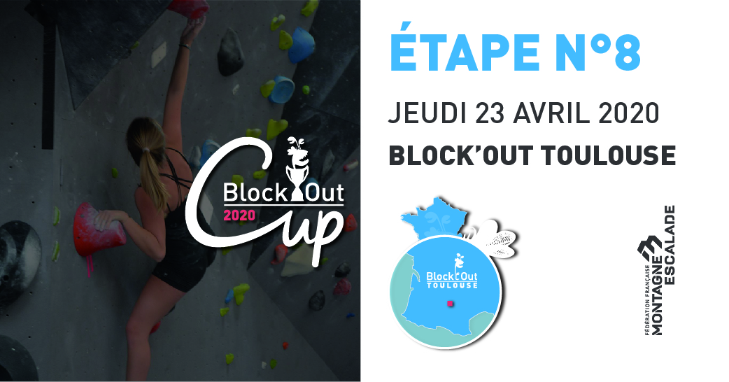 La B'o Cup aura lieu le 23 Avril à Toulouse  - Block'Out Toulouse