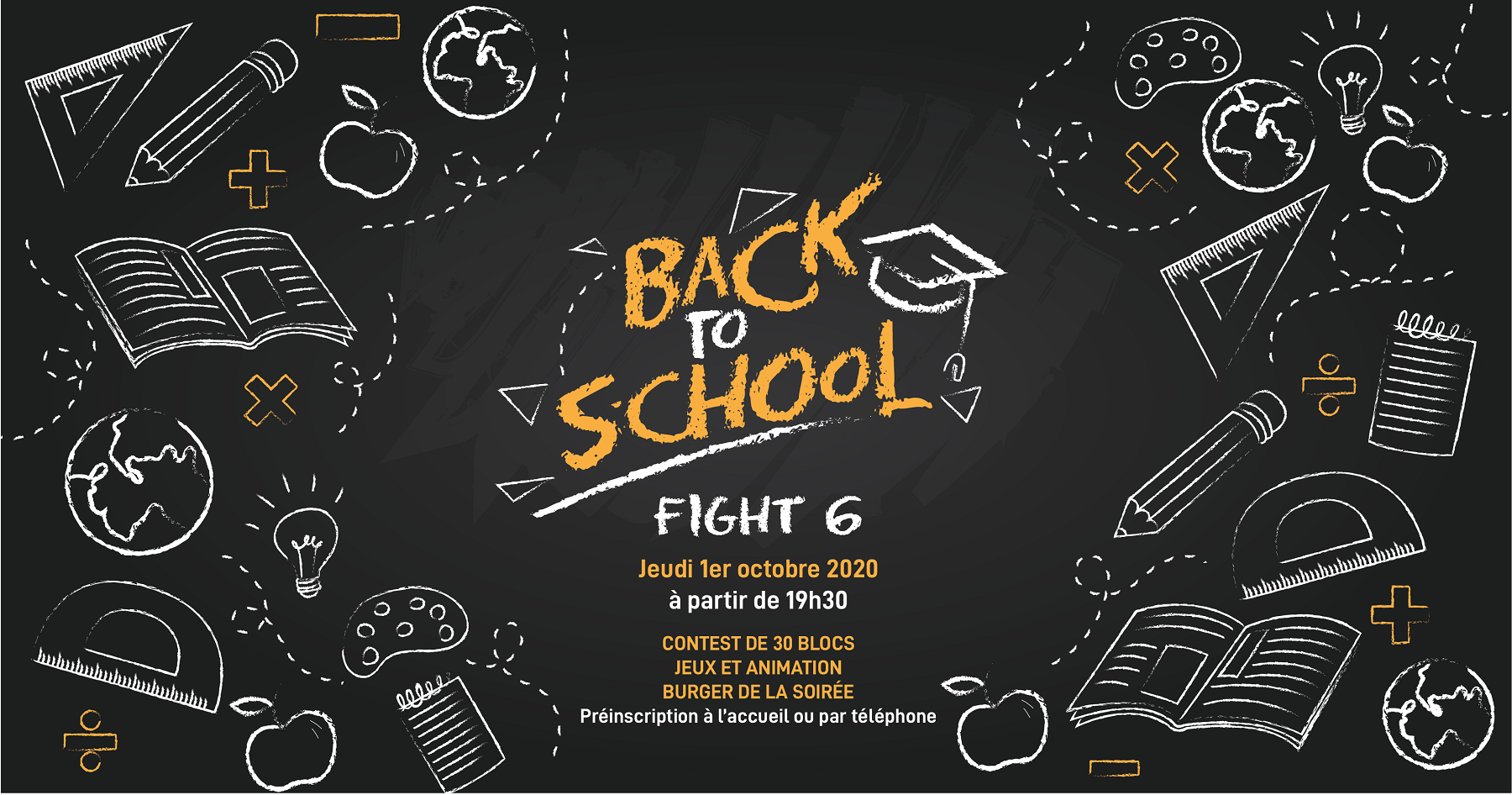FIGHT #6 Back to school