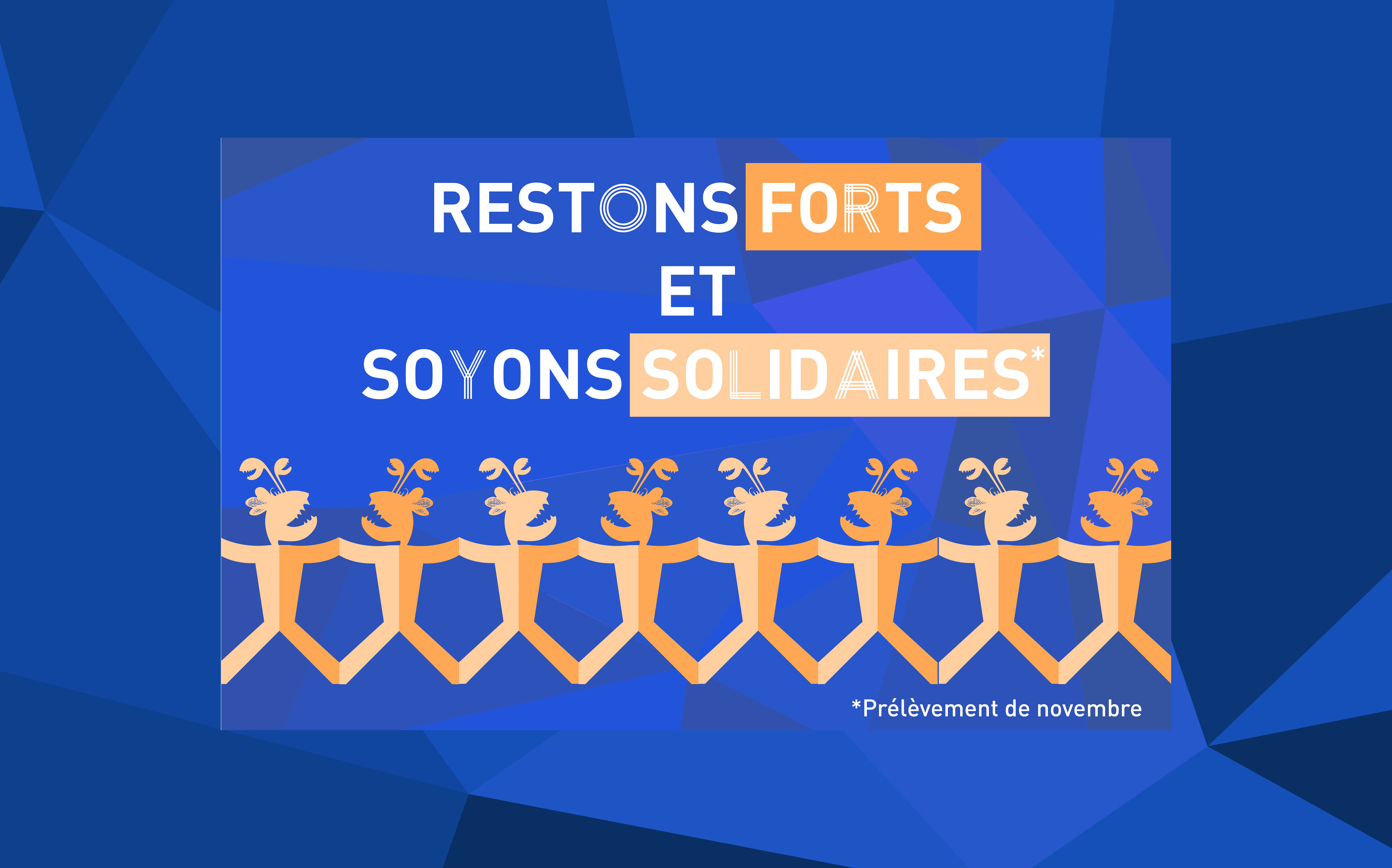 RESTONS FORTS ET SOYONS SOLIDAIRES AVEC BLOCK'OUT