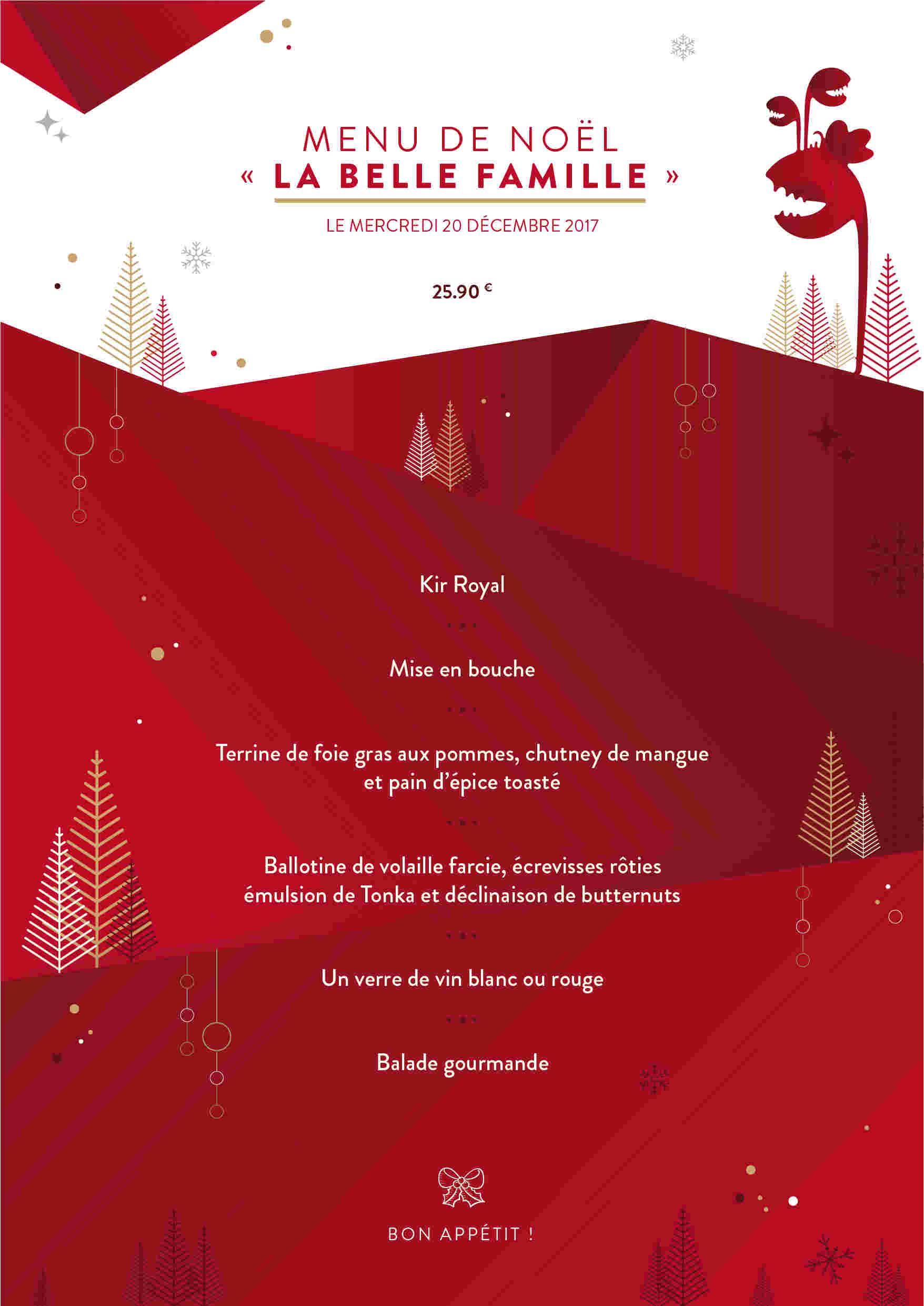 Un Bon Menu De Noel.Votre Repas De Noel Chez B O Toulouse Block Out Toulouse