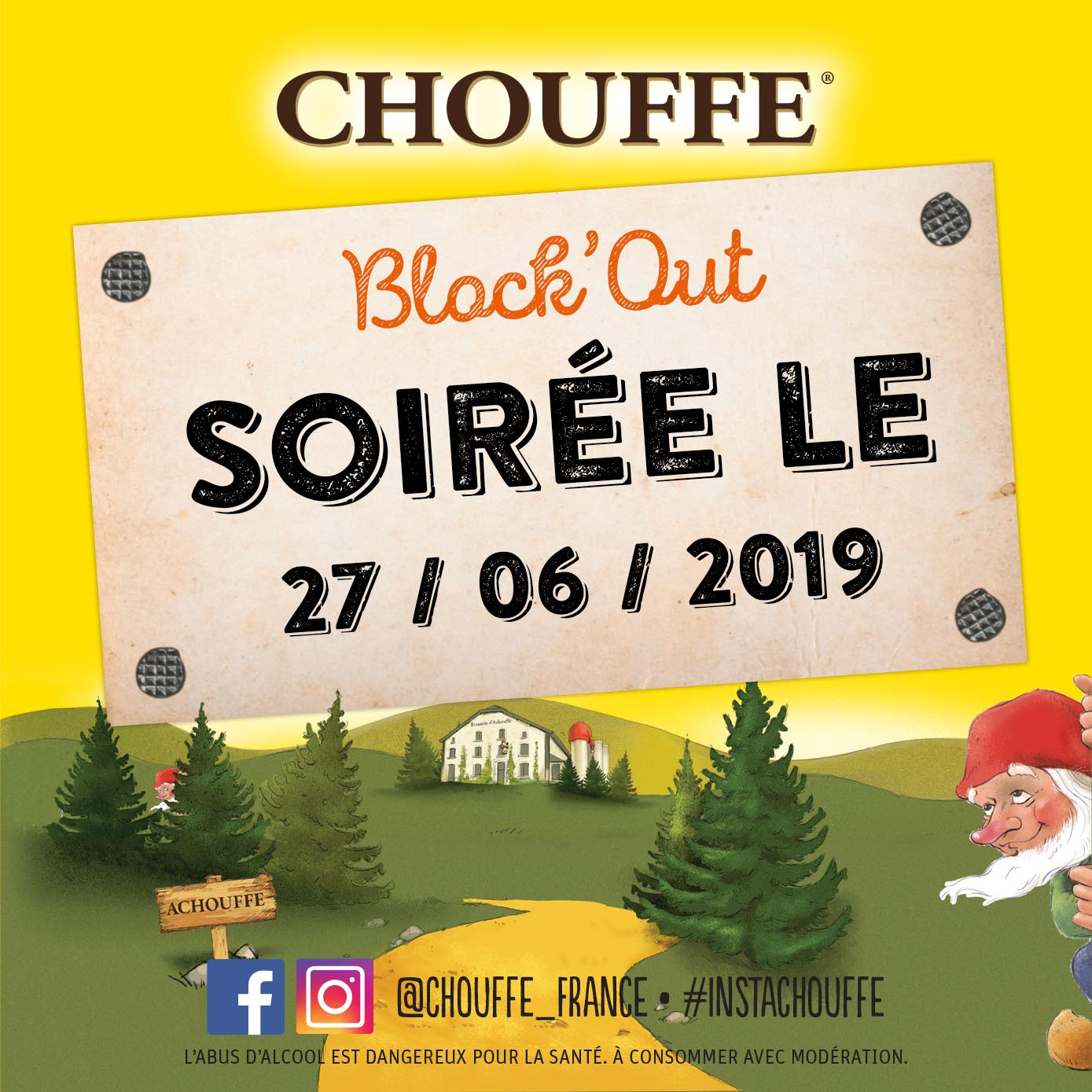 Block'Out Barbecue and Chouffe Party !!