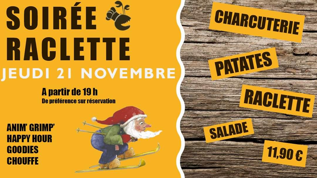 Block'Out Raclette Chouffe Party !! - Block'Out Lille