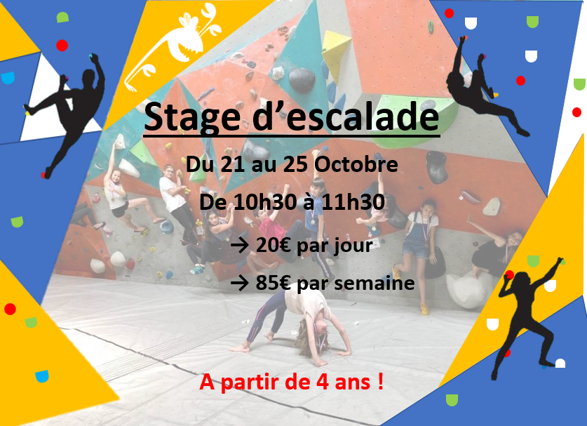 Les Stages d'escalade au block out Rennes !