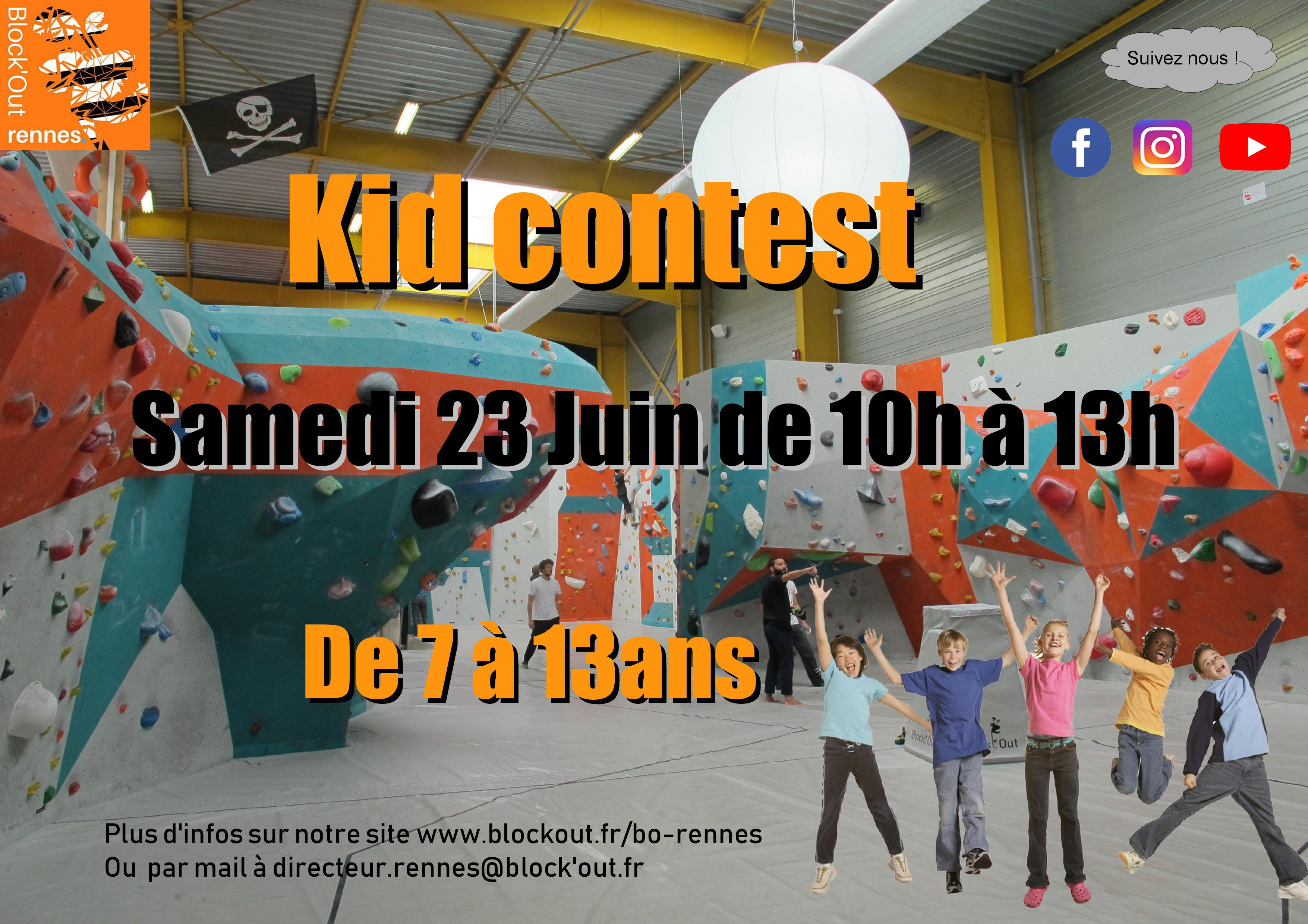 Kid contest - Block'Out Rennes