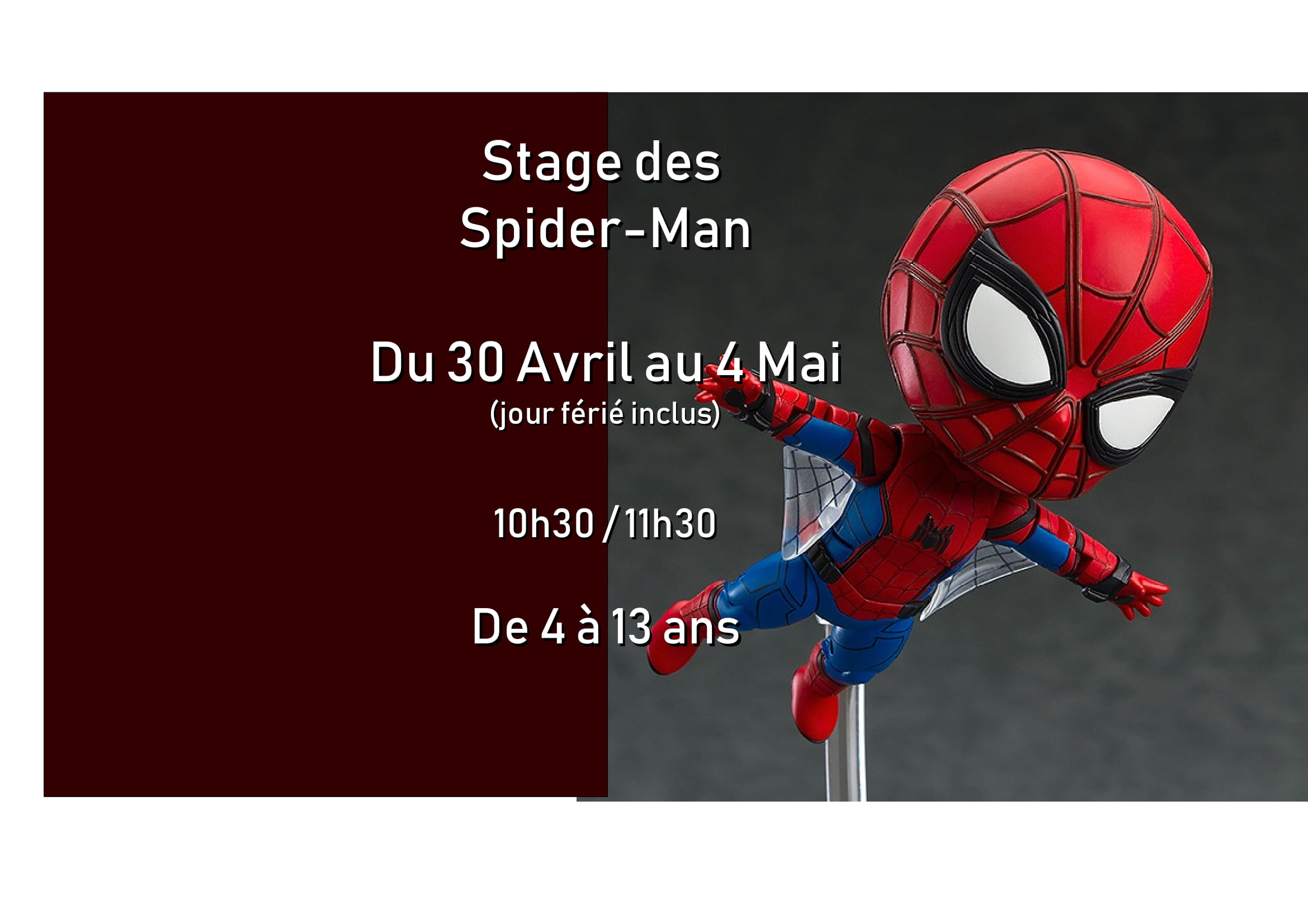 Stage des Spider-Man - Block'Out Rennes